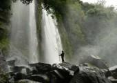 Rappelling Los Chorros waterfall