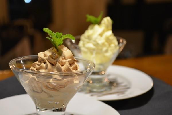 Chocolate or Maracuya Mousse