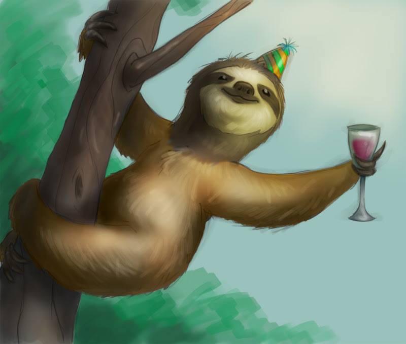 slothbday