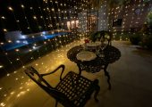 To display romantic dining experience at villa san ignacio restaurante pandora boutique hotel and restaurant in alajuela - san jose costa rica