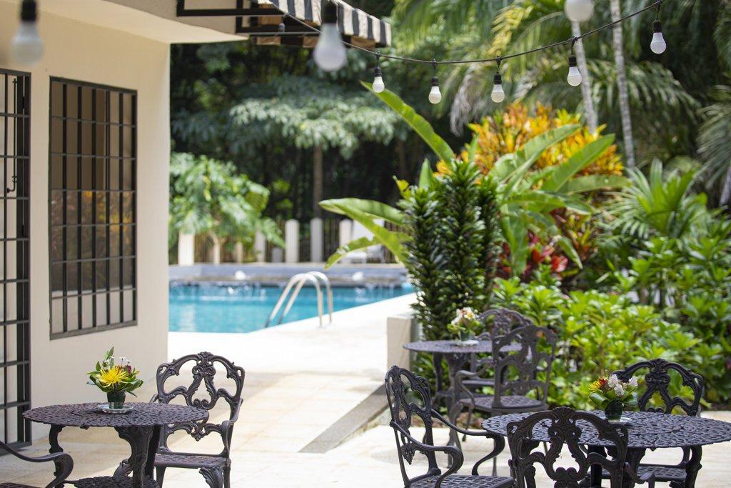 Pandora Restaurant at Hotel Villa San Ignacio in Alajuela, Costa Rica
