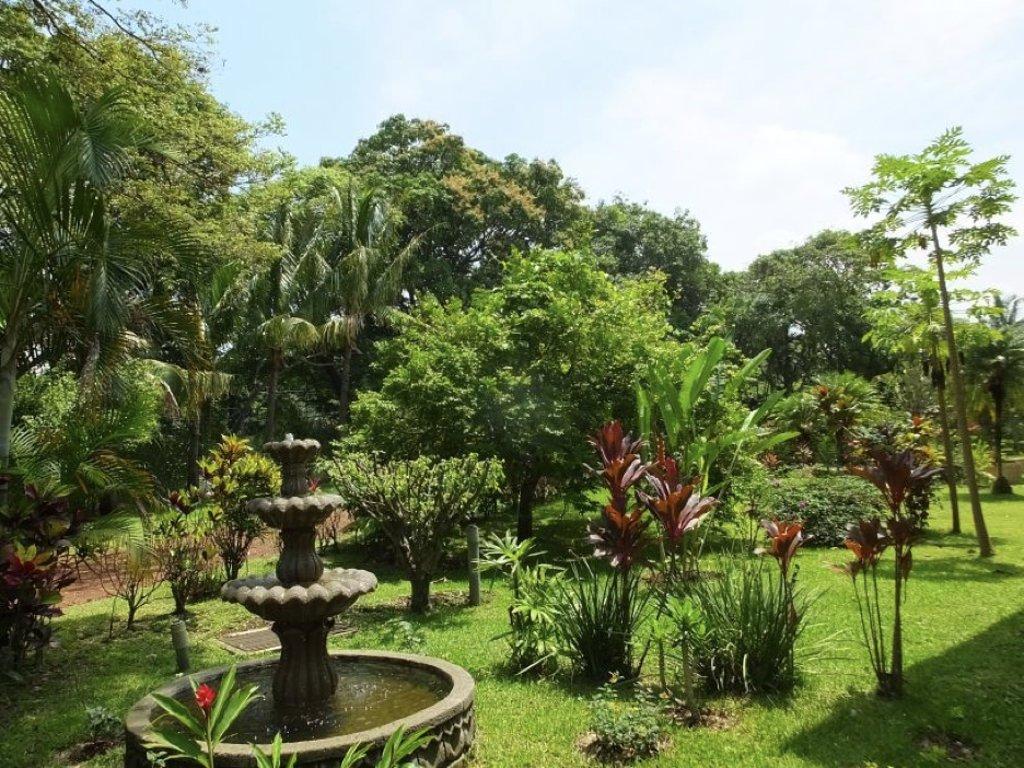 Jardines en el Hotel Villa San Ignacio, Alajuela, Costa Rica